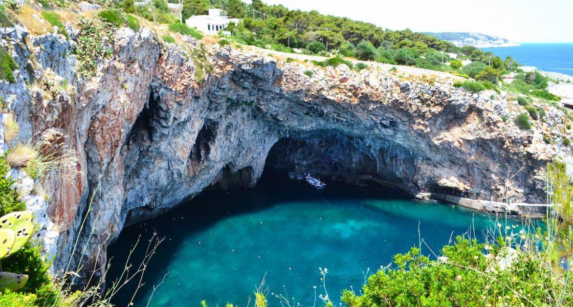 Castro - Grotta Zinzulusa alto